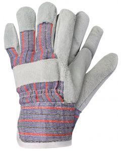 Werkhandschoenen maat xl rundersplitleer