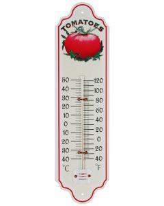 Thermometer metaal 28cm tomaat