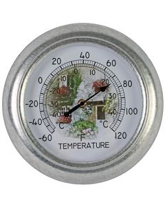 Thermometer analoog 25cm rond