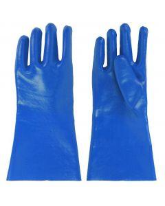 Vijverhandschoenen xl pvc 30cm lang