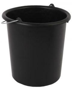 Emmer 5 liter zwart
