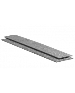 Ecolat recht 14cm x 10mm - 2 meter