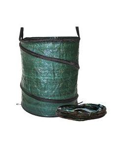 Tuinafvalzak met veer 180 liter