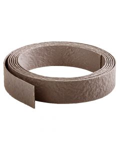 Ecolat opgerold bruin 14cm x 7mm - 10 meter