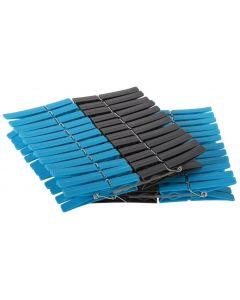 Wasknijpers plastic 48 stuks