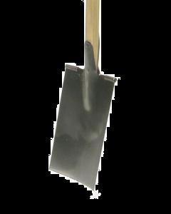 Spade model luik met t-steel in es 90 cm