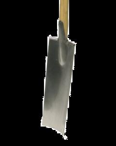 Aardewerkersspade met eendelige d-steel in es 85 cm