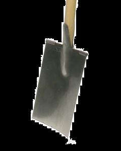 Spade model waasland met eendelige d-steel in es 85 cm
