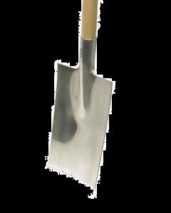 Spade in inox met t-steel 90 cm