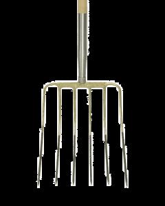 Maisvork 6 t, met stift met d-steel 85 cm