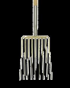 Steenvork 9 t, met stift met d-steel 85 cm