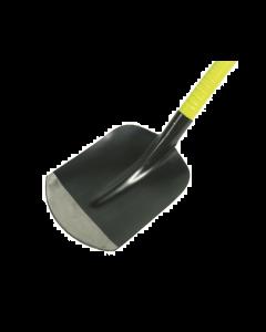 Zandschop nr 2, extra kwaliteit met gebogen steel in glasvezel-kunststof
