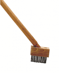 Onkruidborstel met niet verniste steel 140cm diam 28