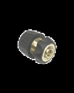 Snelkoppeling met slanghouder ø 12-18 mm (messing-rubber)