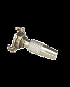 Gk-snelkoppeling met regelbare spuit (messing)